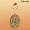 Foodie Delight Oval Key Chain-Image2