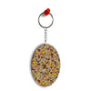 Foodie Delight Oval Key Chain
