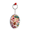 French Delight Oval Key Chain