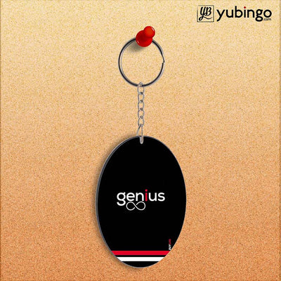 Genius Oval Key Chain-Image2