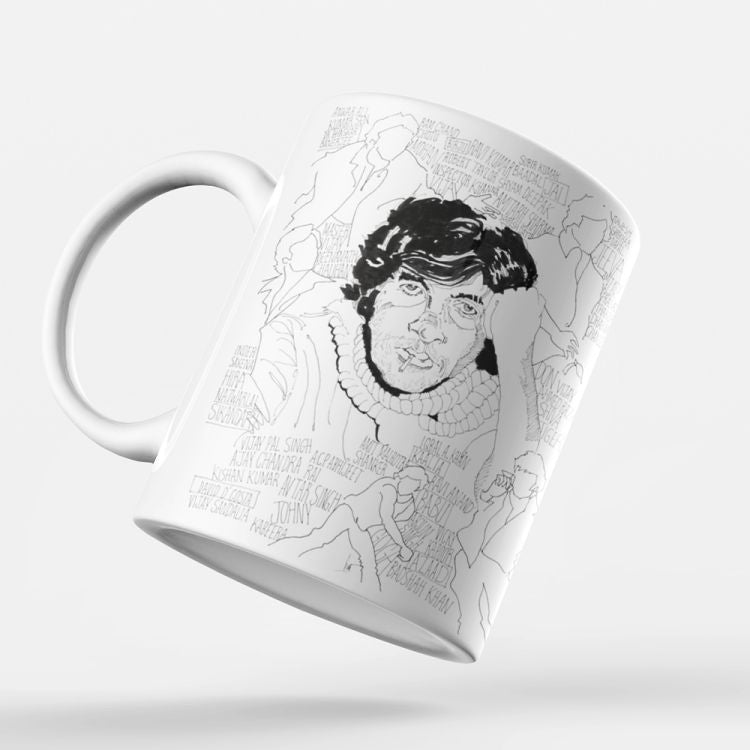 Indro's Art Big B Coffee Mug