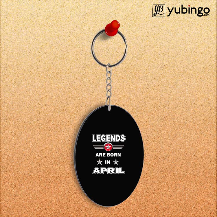 Legends Customised Oval Key Chain