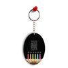 Light Up My Life Oval Key Chain