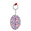London Oval Key Chain