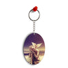 Lord Buddha Oval Key Chain