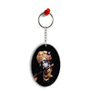Lord Krishna Oval Key Chain