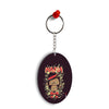 Mafia Monkey Oval Key Chain