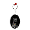 Ride the Wind Oval Key Chain