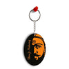 Shivaji Maharaj Oval Key Chain