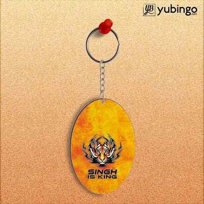 Singh Is King Oval Key Chain-Image2