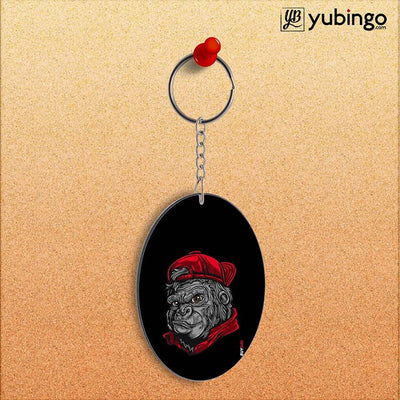 Swag Oval Key Chain-Image2