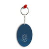 Swastik and Ganesha Oval Key Chain