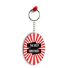 The Best Brother Oval Key Chain