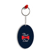 The Best Dad Oval Key Chain