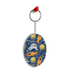 Travel To Moon Oval Key Chain