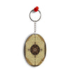 Turkish Carpet Oval Key Chain