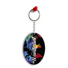 Wanderlust Oval Key Chain