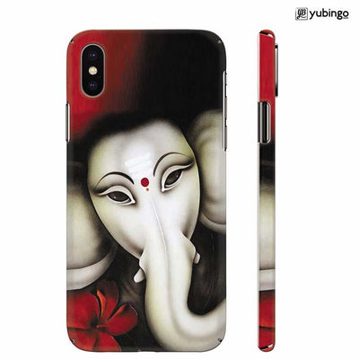 Calm Ganesha Back Cover for Apple iPhone X