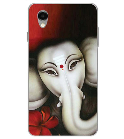 Calm Ganesha Back Cover for ITEL PWO Pro