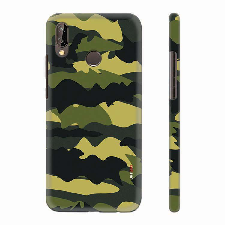 new concept 13691 8b928 Camouflage Back Cover for Huawei P20 Lite