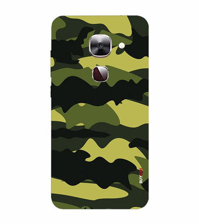 Camouflage Back Cover for LeEco Le 2s