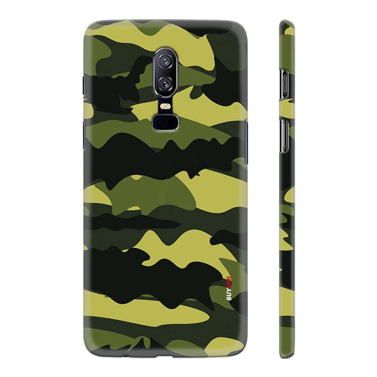 new style 5606c a2e52 Camouflage Back Cover for OnePlus 6