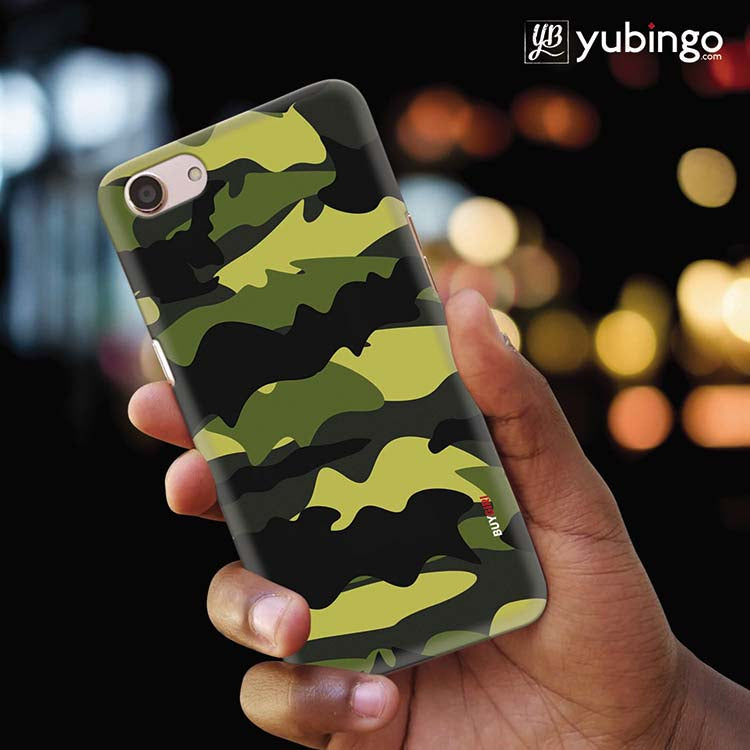 Camouflage Back Cover for Oppo A83