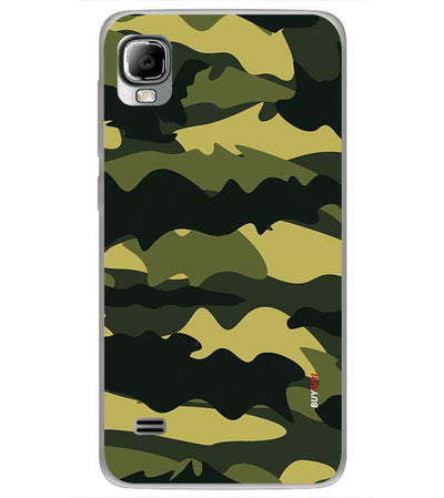 Camouflage Back Cover for LYF Flame 3