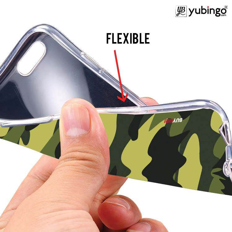 Camouflage Soft Silicone Back Cover for Gionee P5 Mini