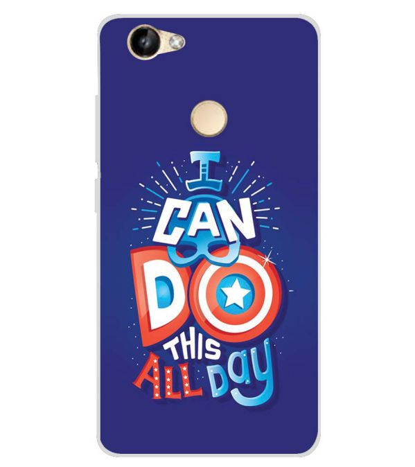 designer fashion e048c 5cdbe Can Do This All Day Soft Silicone Back Cover for Itel Wish A41 Plus