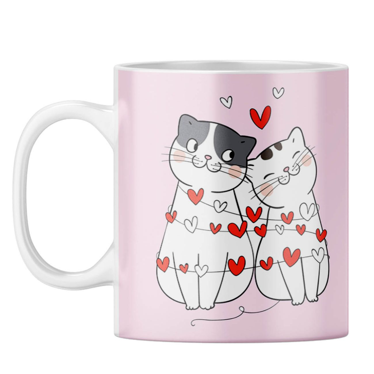 Catty Love Coffee Mug