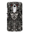 Charming Lady with Tiger Back Cover for Lenovo Vibe X3