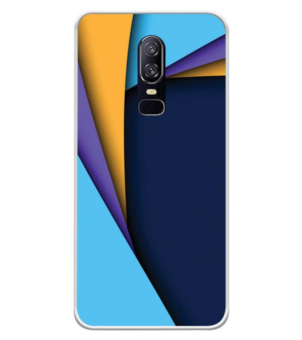 Classic Pattern Soft Silicone Back Cover for OnePlus 6