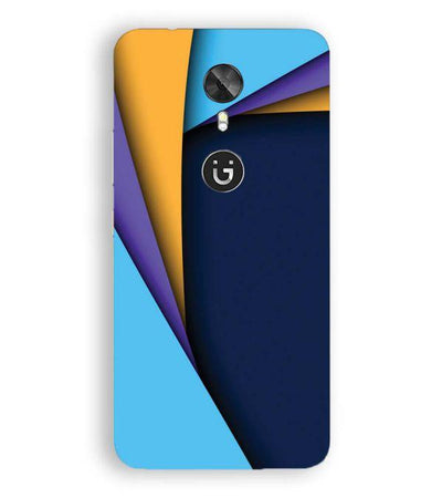 Classic Pattern Back Cover for Gionee A1