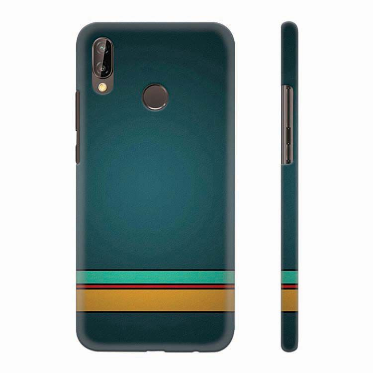 Classy Pattern Back Cover for Huawei P20 Lite