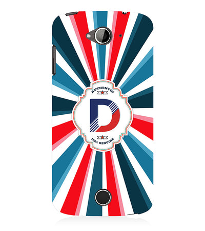 Colourful Customised Alphabet Back Cover for Acer Liquid Zade 530