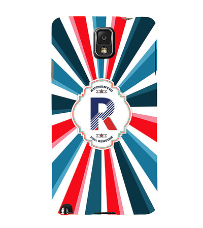 Colourful Customised Alphabet Back Cover for Samsung Galaxy Note 3-Image4