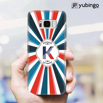 Colourful Customised Alphabet Back Cover for Samsung Galaxy S8 Plus-Image2