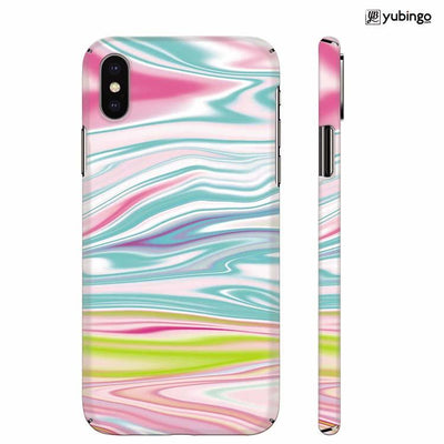 Colourful Marble Back Cover for Apple iPhone X