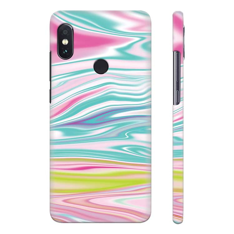 super popular a2ee0 14c15 Colourful Marble Back Cover for Xiaomi Redmi Note 5 Pro
