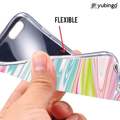 Colourful Marble Back Cover for LYF Flame 3-Image2