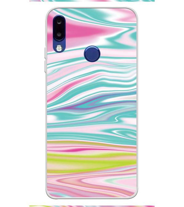 premium selection 4ba42 cb4d2 Colourful Marble Soft Silicone Back Cover for Tecno Camon i2x