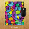 Colourful Mosaic Mouse Pad-Image2