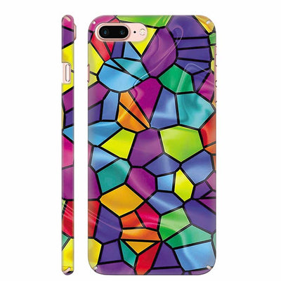 Colourful Mosaic Back Cover for Apple iPhone 8 Plus