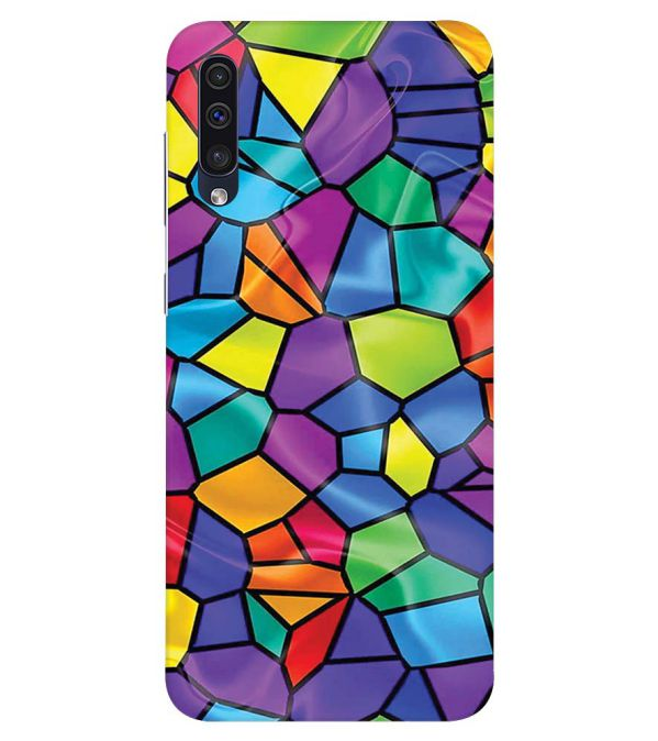Colourful Mosaic Back Cover for Samsung Galaxy A50