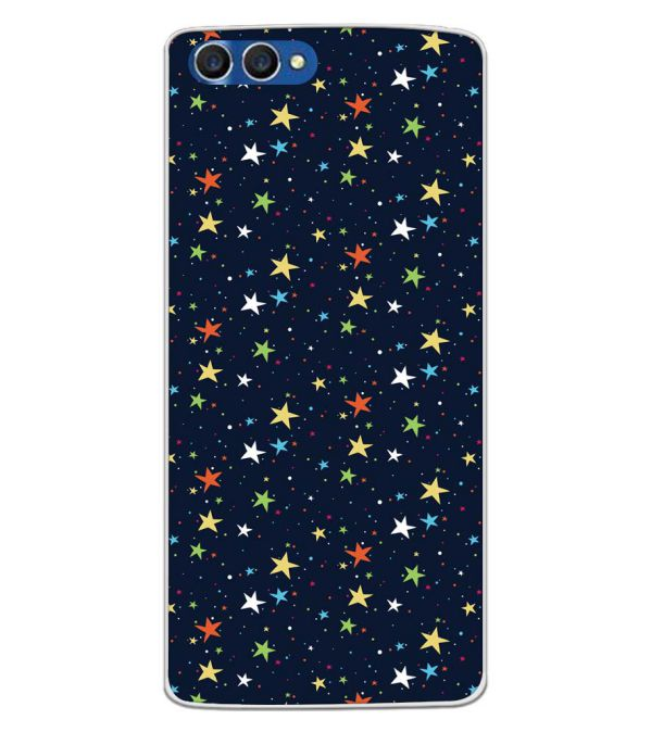 Colourful Stars Back Cover for Homtom H3-Image3