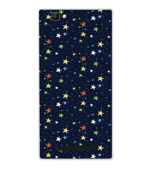 Colourful Stars Back Cover for Xolo Era 1X Pro-Image3