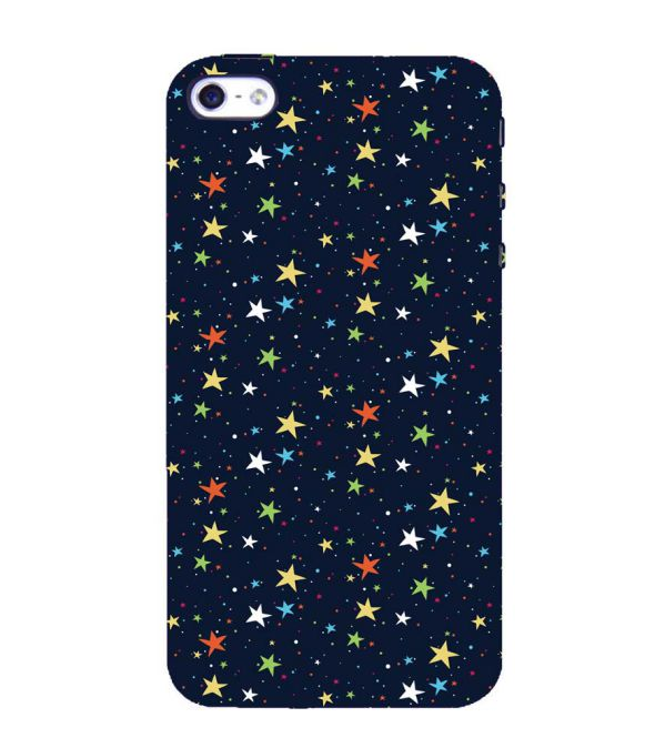 Colourful Stars Back Cover for Apple iPhone 4 : 4S