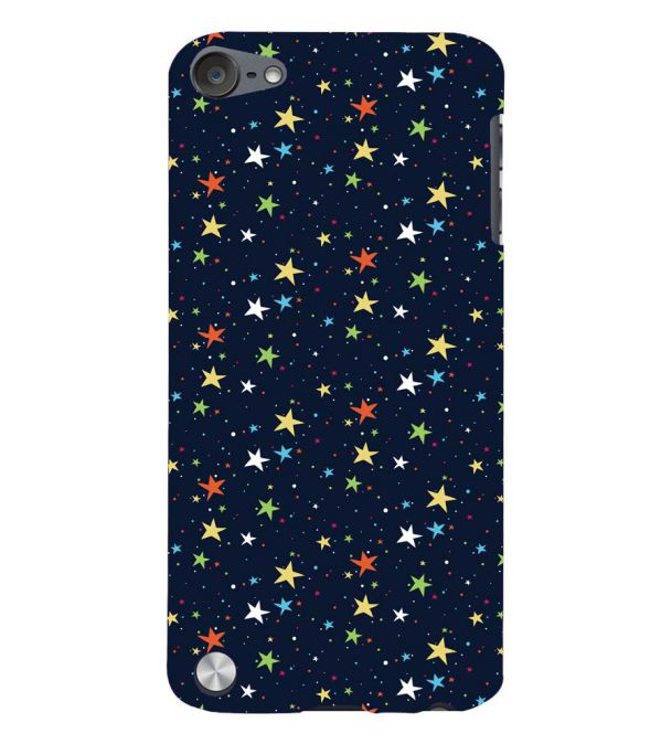 Colourful Stars Back Cover for Apple iPod Touch 5