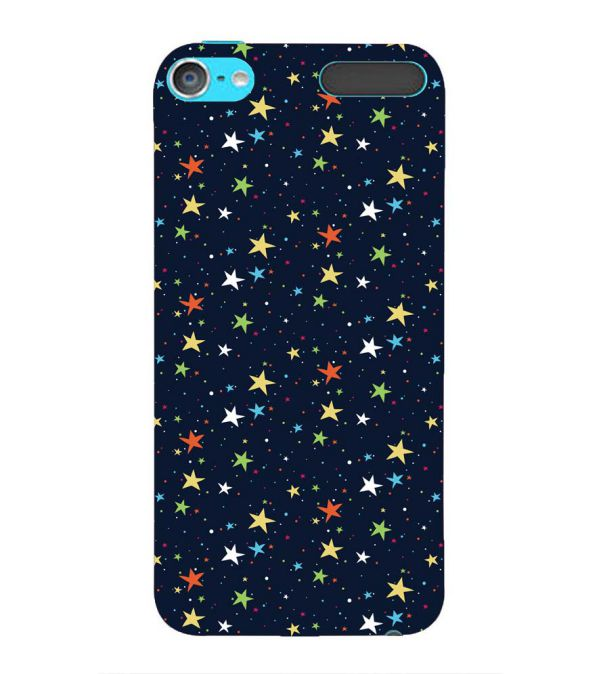 Colourful Stars Back Cover for Apple iPod Touch 6